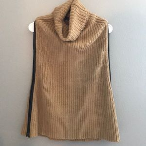 Cable Knit Ann Taylor Zipper Side Sweater